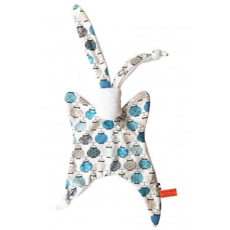 Doudou Original Made in France Le Denglong Bleu