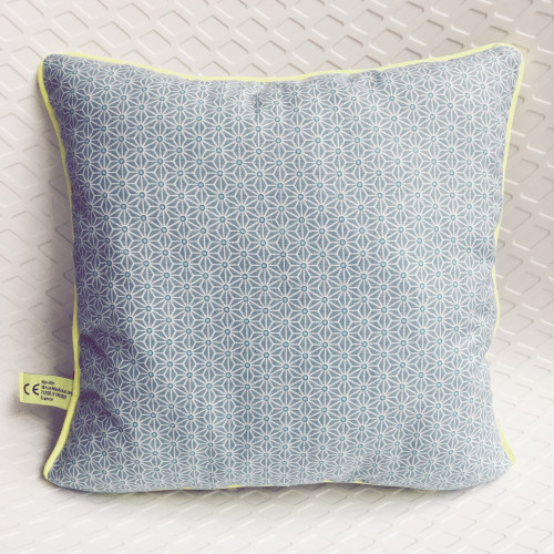 Coussin carré Le Denglong Bleu - Made in France