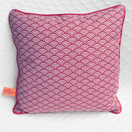 Coussin carré Le Denglong Rouge - Made in France
