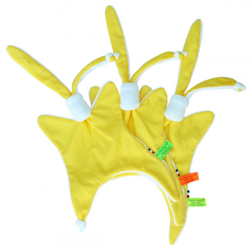 Etiquette verte, jaune ou orange doudou Le FFF3000