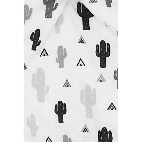 Tissu doudou Le Cactus