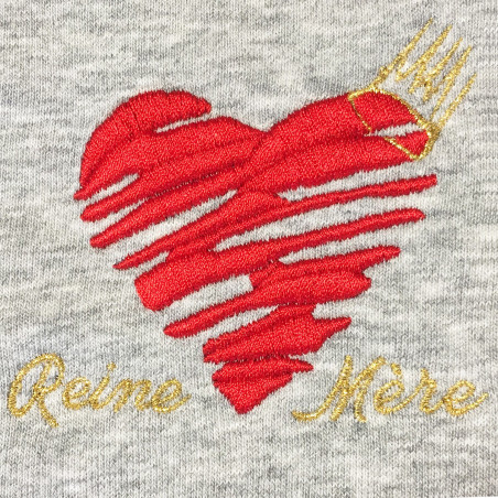 """ROBE """"REINE MERE"""" MADE IN FRANCE"""