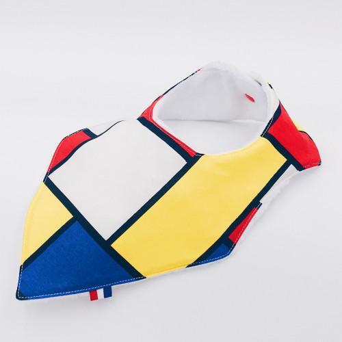 Coffret de naissance bavoir Mondrian