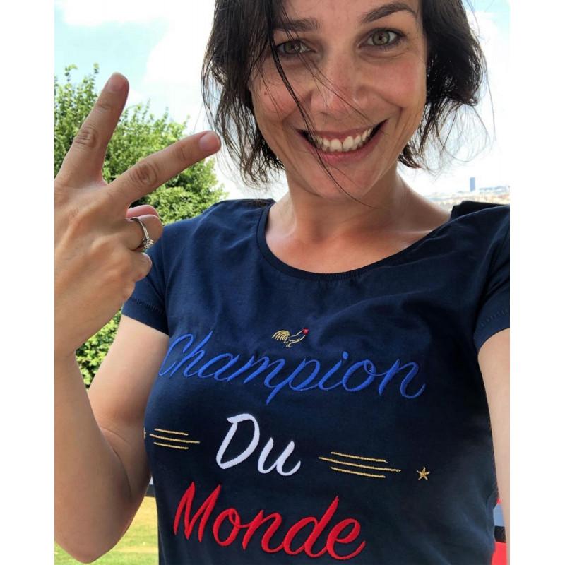 Nathalie Pechalat Champion du Monde