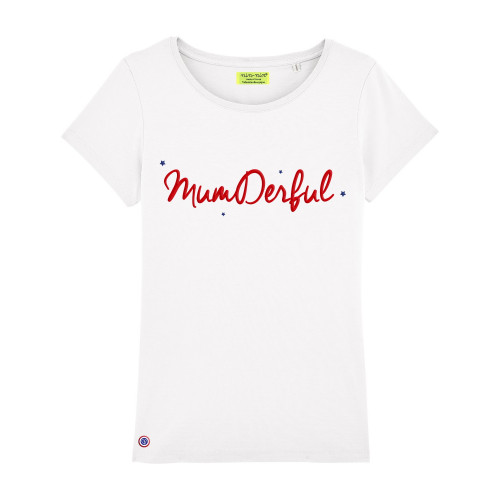 White Mumderful Woman T-shirt