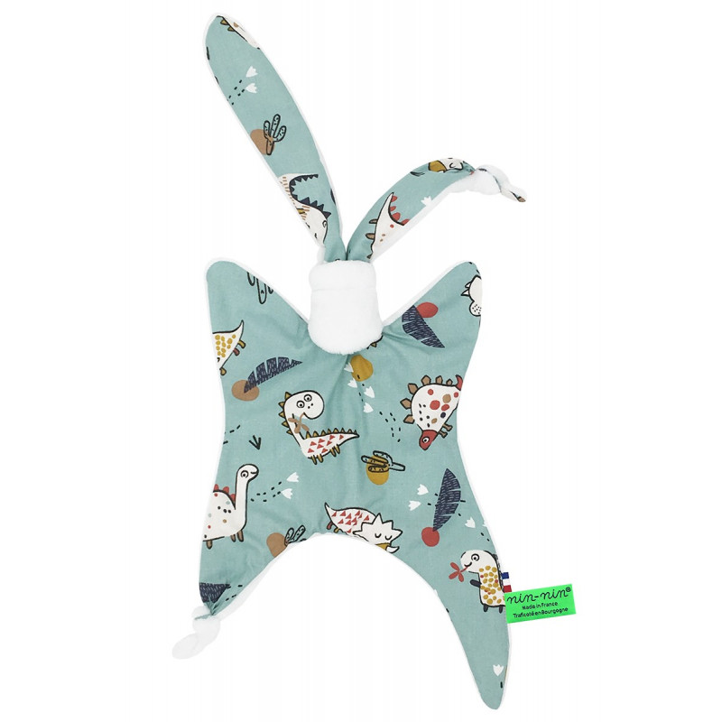 Doudou Dinosaure Made in France