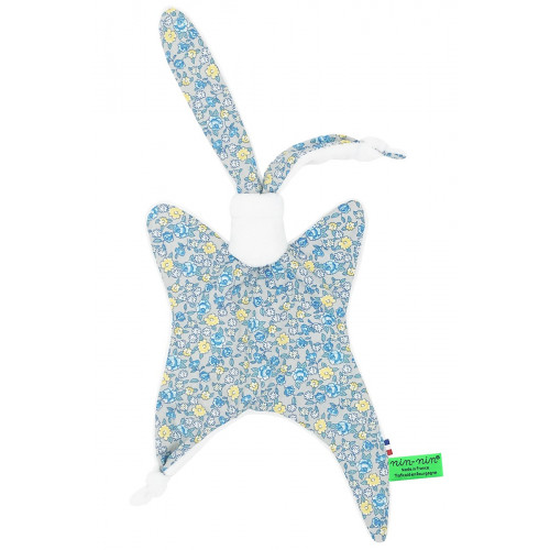 Doudou Made in France Le Liberty Bleu