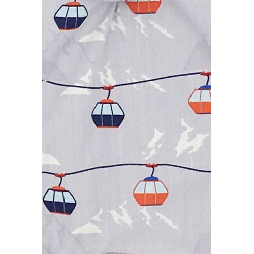 Zoom tissu doudou Made in France Le Chamonix