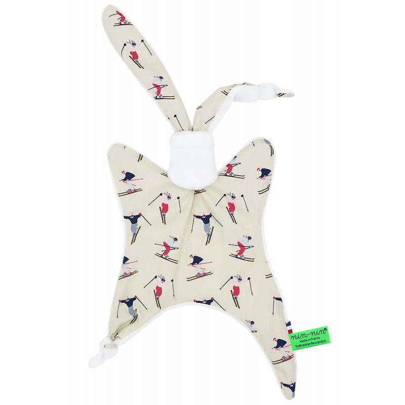 Doudou Made in France Le Skieur