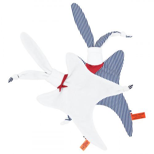 Vude de dos Le Marinière - Doudou pour Fille et Garçon Fabriqué en France
