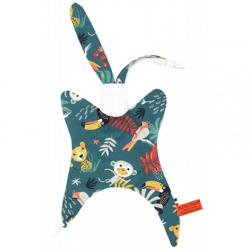 Doudou Le Tropical. Cadeau de naissance original et made in France