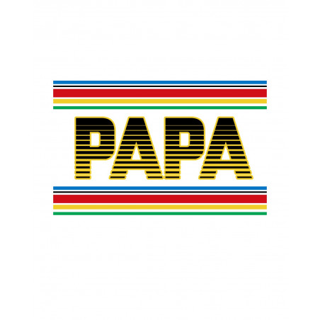"""BRODERIE T-SHIRT HOMME """"PAPA"""""""