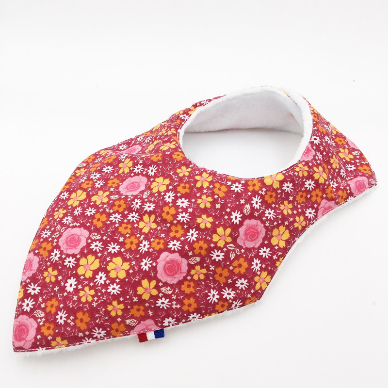 BAVOIR BANDANA ROMANTIQUE. MADE IN FRANCE