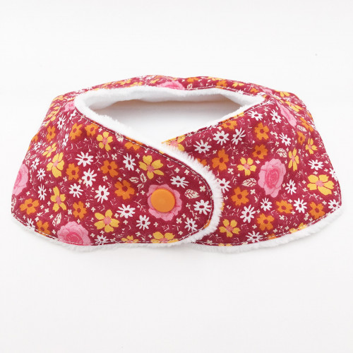 PRESSION BAVOIR BANDANA ROMANTIQUE. MADE IN FRANCE
