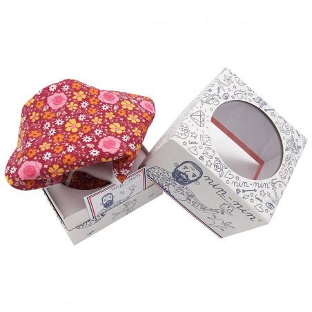 Cube doudou Le Romantique. Made in France