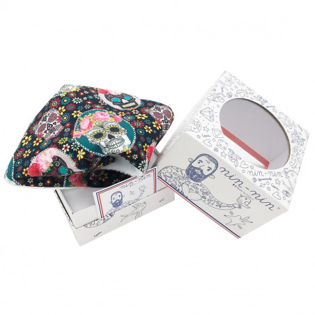 Cube doudou Le Mexicain. Made in France