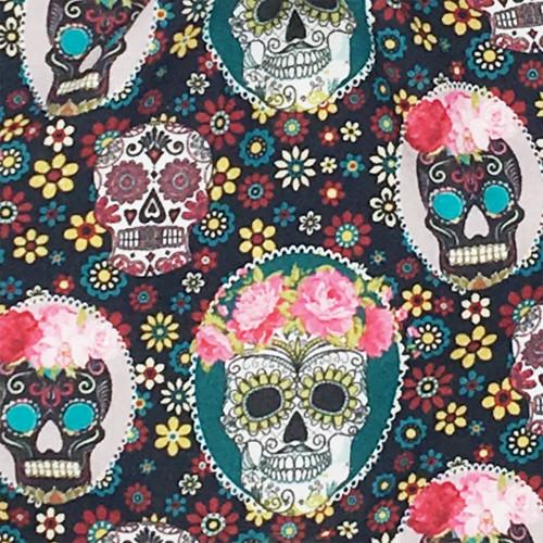 Tissu doudou Le Mexicain. Cadeau de naissance original et made in France