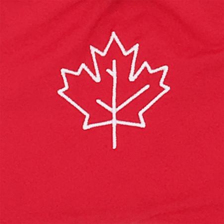 Tissu doudou Le Canadien. Cadeau de naissance original personnalisable et made in France.