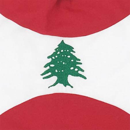 Broderie doudou Le Libanais. Cadeau de naissance original personnalisable et made in France.