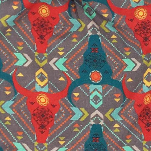 Tissu doudou Zébu personnalisable. Cadeau de naissance original et made in France