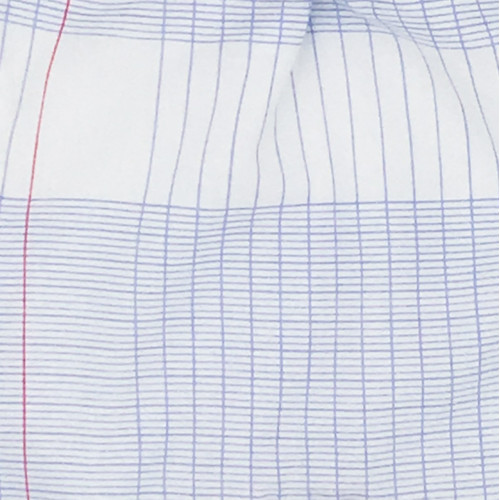 Tissu doudou cahier d'école. Original et fabriqué en France