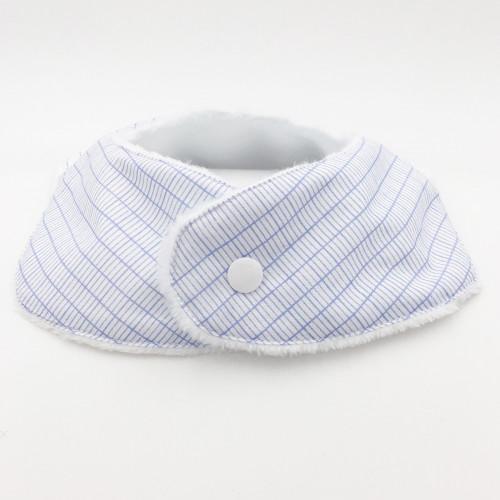 Pression bavoir bandana personnalisable l'intello. Fabrication Française