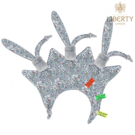 Doudou étiquettes Le Paddy Liberty of London. Cadeau de naissance original personnalisable et made in France.