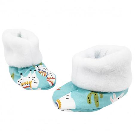 Bottons Lama pour bébé. Cadeau de Naissance Made in France