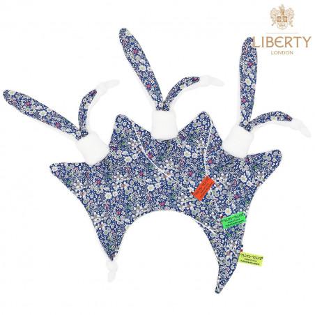 Étiquettes doudou Le Charlie Liberty of London. Style Jacadi. Cadeau de naissance personnalisable, original et made in France.