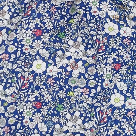 Tissu doudou Le Charlie Liberty of London. Style Jacadi. Cadeau de naissance personnalisable, original et made in France.