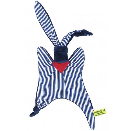 Doudou Jean Paul Gaultier. Cadeau personnalisable et fabriqué en France. Marque Nin-Nin