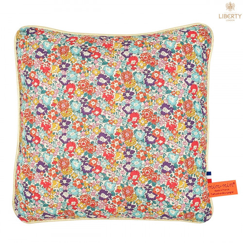 Personalised pillow Le Victoria Liberty of London. Original, extremely soft and made in France. Nin-Nin