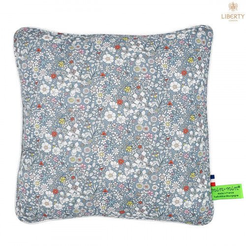 Coussin Paddy Liberty of London. Cadeau de naissance original personnalisable et made in France. Nin-Nin