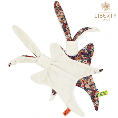 Côté peluche doudou Le Jude Liberty of London. Cadeau de naissance original personnalisable et made in France. Nin-Nin