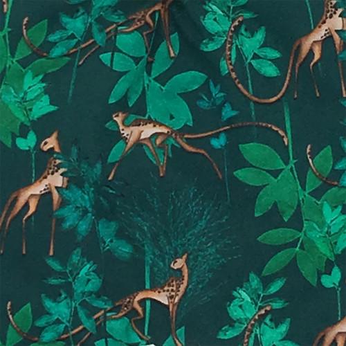 Tissu doudou plat Le Chimère. Cadeau de naissance personnalisable, original et made in France. Nin-Nin