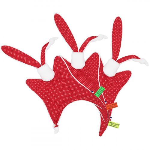 Etiquettes doudou de Noël le Sucre d'Orge. Cadeau de naissance personnalisé, original et made in France. Nin-Nin