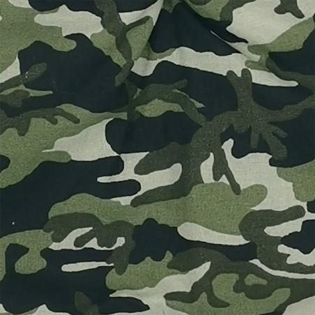 Tissu doudou militaire. Cadeau de naissance personnalisable et made in France. Doudou Nin-Nin