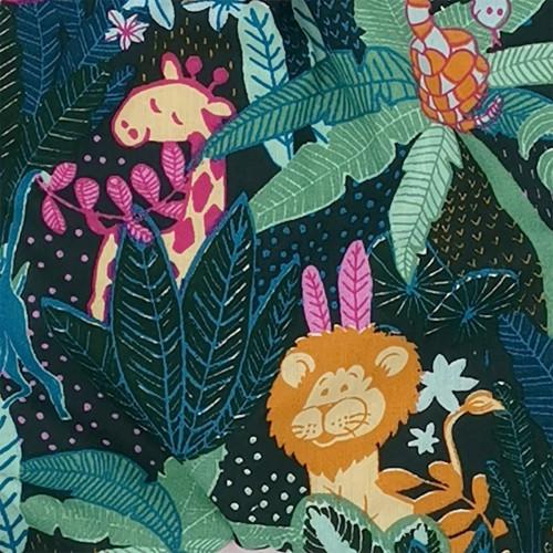Tissu doudou plat Le Pink Casamance. Cadeau de naissance personnalisable et made in France. Marque Nin-Nin