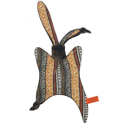 Doudou Le Azandé. Cadeau de naissance personnalisé et made in France. Doudou Nin-Nin