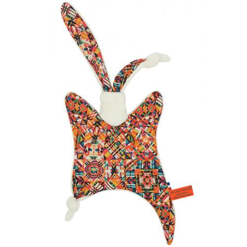 Doudou Le Himba. Cadeau de naissance personnalisé et made in France. Doudou Nin-Nin
