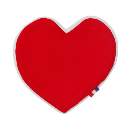 Tissu BALLON COEUR ROUGE LOVE