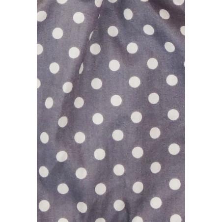 Tissu Le Pois Plume - Doudou Fille et Doudou Garçon Made in France
